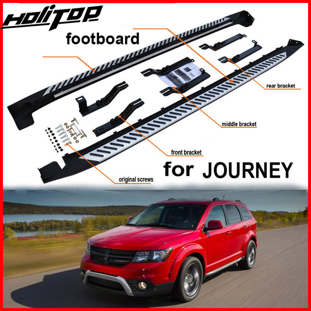 New Arrival For Dodge Journey Jcuv Fiat Freemont Running Board Side Step Side Nerf Bar