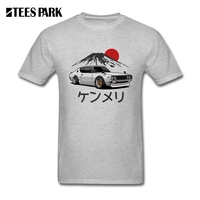Tee Thời Trang Dạo Phố Nissan Skyline GTR Kenmeri Tuổi Teen Xe Round Cổ Áo Ngắn Tay Áo Tee Người Đàn Ông Mới của Mát Tee Shirt Thiết K