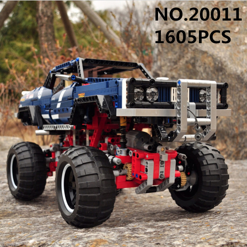 Lepin Technic 20011 1605PCS Super Classic Limited Edition Of Off-road Vehicles 41999 Sets Model Building Kits Blocks Bricks Toys lepin 20011 1605 pcs super classic limited edition of off road vehicles model building blocks bricks compatible toy 41999