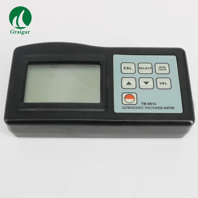 Ręczny cyfrowy ultradźwiękowy miernik grubości TM8812 zakres pomiarowy 1 0 ~ 200mm tanie i dobre opinie GRAIGAR