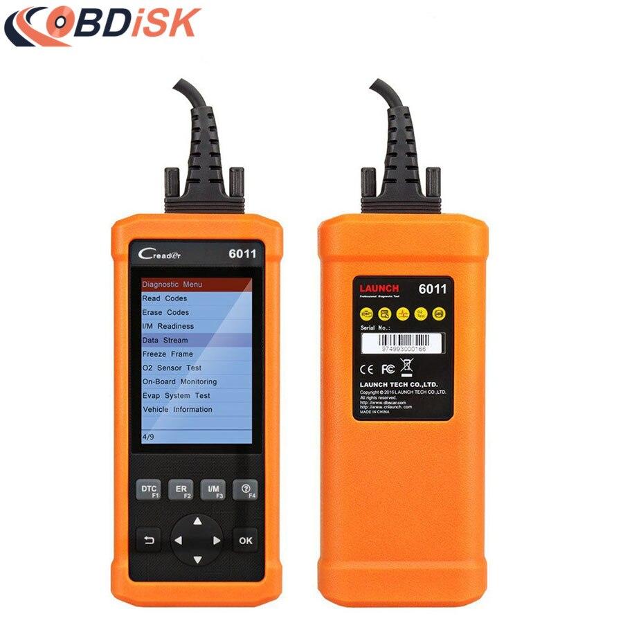 imágenes para DIY lanzamiento Herramienta de Diagnóstico CReader 6011 OBD2/EOBD Escáner de Código de Auto con ABS y SRS Sistema de Funciones de Diagnóstico Libre gratis