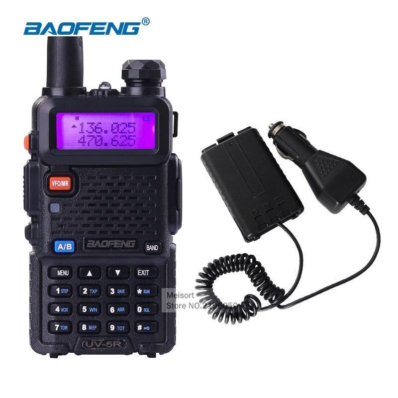 bilder für Walkie-talkie baofeng uv-5r vhf uhf frequenz bewegliche handfunkgerät communicator zwei-wege schinkenradios für jagd radio station