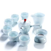 Teapot Teacup Set ceramics Chinese kung fu teapot cups six gentlemen Simple Japanese style tea ceremony home office