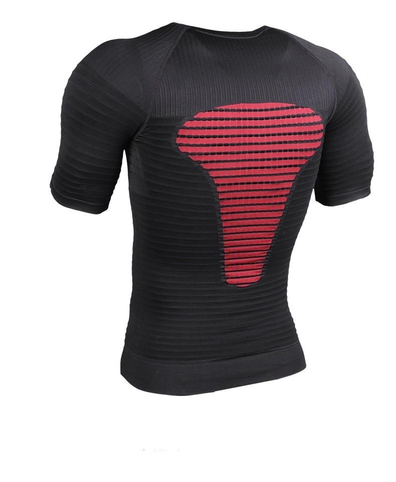 Costelo Seamless Compression Sports Gym Yoga fitnesst-shirt bionic baselayer