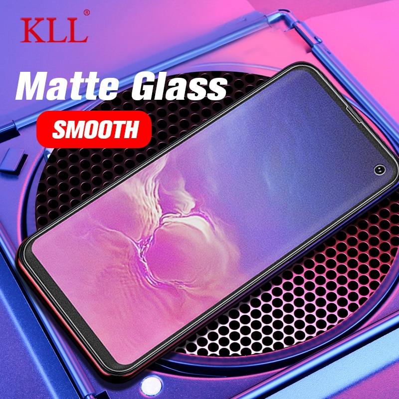 Matte Tempered Glass For Samsung Galaxy S10E J3 J4 J6 Plus J5 J7 Prime J8 9H Screen Protector Film No Fingerprint Frosted Glass