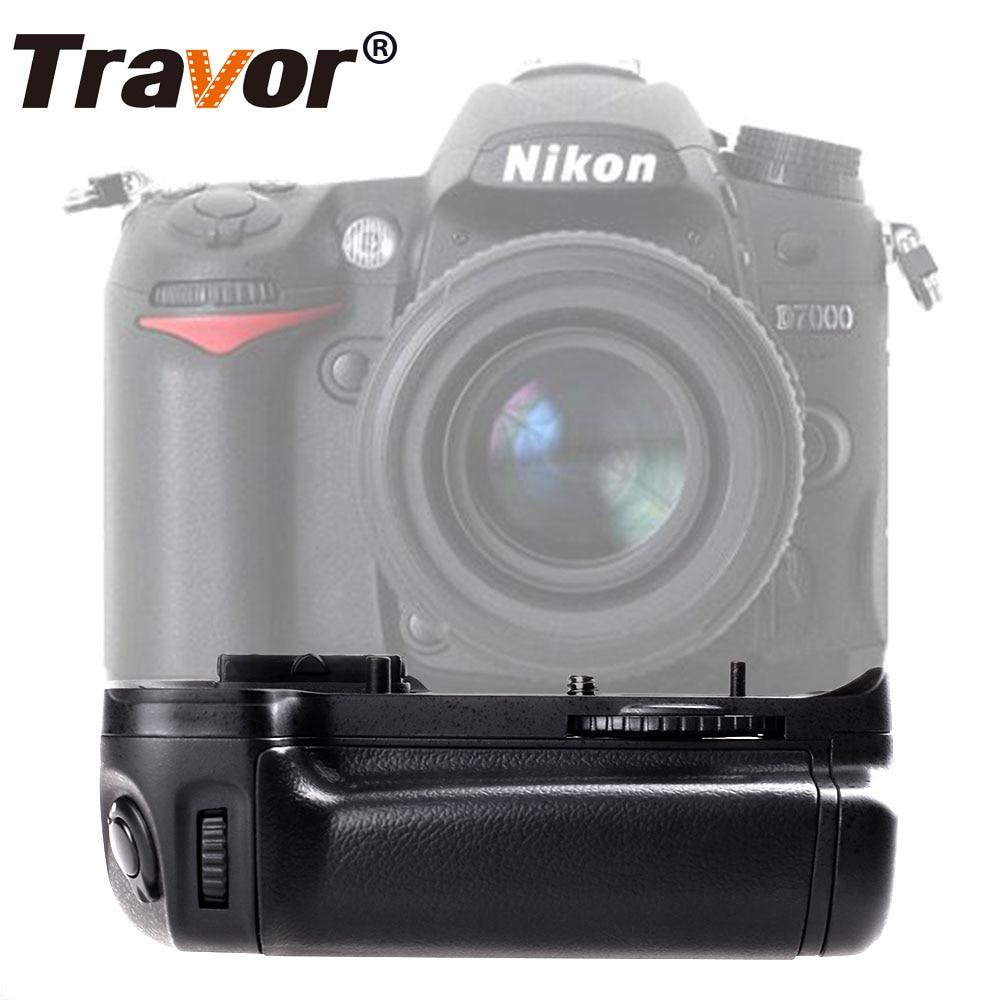 Travor Battery Grip Holder for Nikon D7000 DSLR Camera work with EN-EN15 battery replacement MB-D11 en el15a 7 4v 3200mah battery pack for nikon mb d11 std nd7000