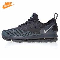 Nike Air Max 2018 dlx HO18 GBYAPF Для мужчин Кроссовки, оригинальные спортивные открытый Спортивная обувь Обувь, черный, дышащий 669580 846