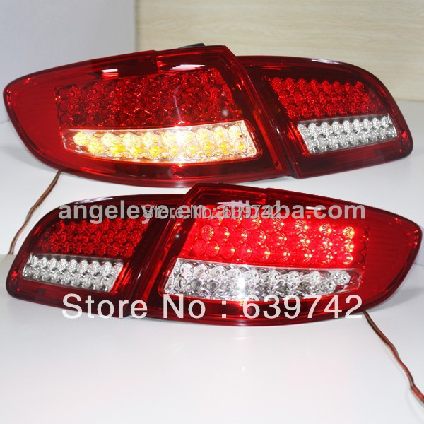 For Hyundai Santa Fe  LED tail light  2006-2012 year Red  White Color Super Lux farcar s130 hyundai santa fe 2006 2013 android r008