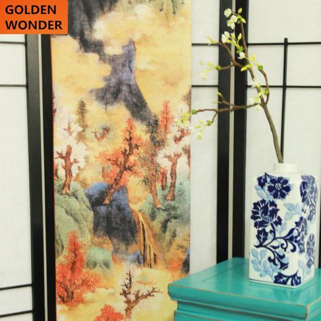 moderne chinois style d coratif tissu chemin de table. Black Bedroom Furniture Sets. Home Design Ideas