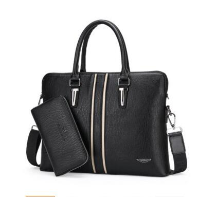 Dika Paul Men 's Bags Europe and the United States fashion men briefcase business package handbag computer bag paul kossof business franchising in china