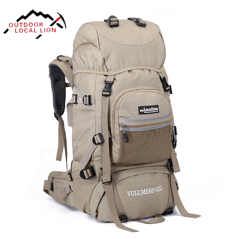 LOCAL LION Military Tactical Backpack Hiking Backpack Mountaineering Molle Men Waterproof Mountain Bag Army Solid Rucksack 75L игрушка remo hobby mountain lion xtreme rh1072