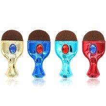 Mermaid Fish Glitter Makeup Powder Brush Face Contour Blush Brushes Cosmetic Single/sets Gemstone Foundation Beauty