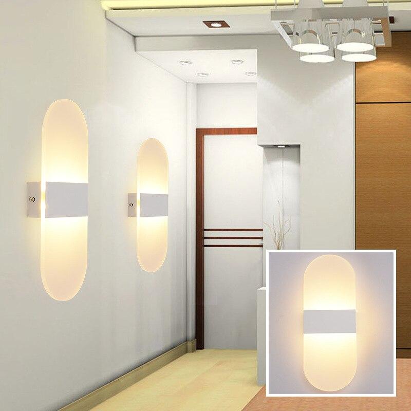 Lâmpadas de Parede parede luminária decorativa lâmpadas caminho Fonte de Luz : Lâmpadas Led