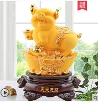 Sand Gold Golden Gold jewelry decoration home furnishings living room wine birthday gifts pig crafts Wedding crafts
