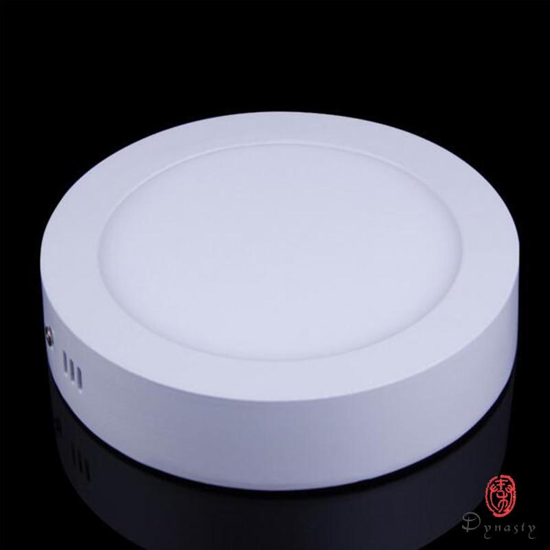 Povrchové LED světelné panely Montážní instalace Kruhové - LED Osvětlení