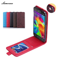 JR Brand High Quality PU Leather Cover Skin For Samsung Galaxy J3 J300 Case Pouch Flip
