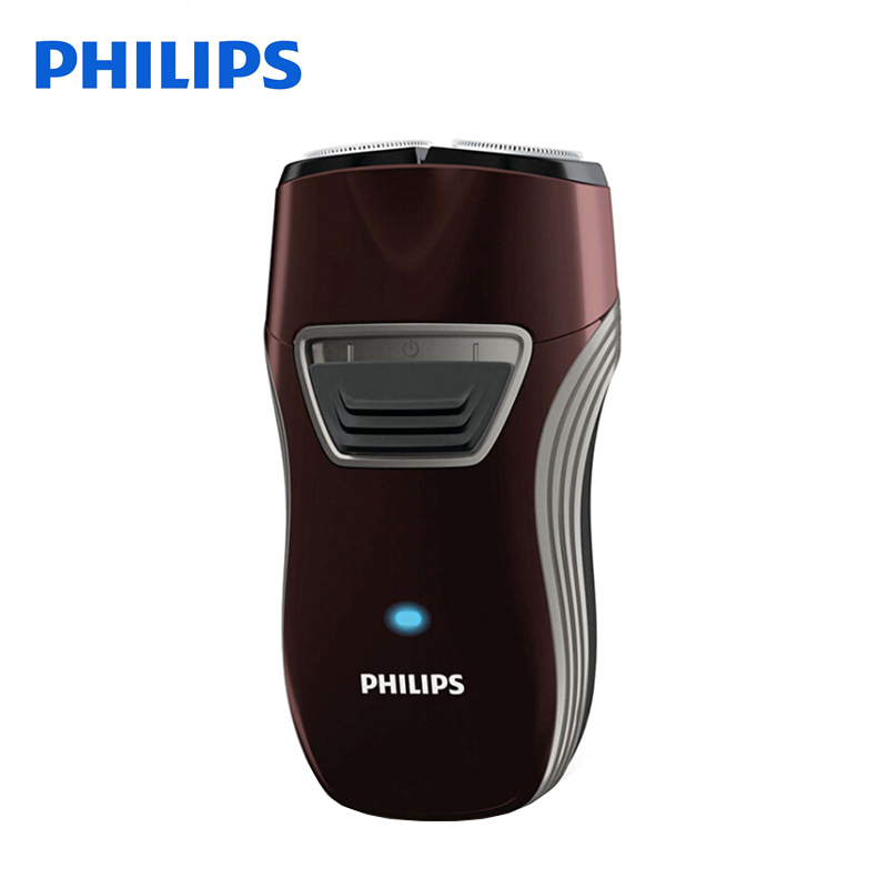 100% Original Philips Electric Shaver PQ216 Rotary Rechargeable With Lithium Batter Two Floating Heads for Men's Electric Razor electric shaver philips pq187 rechargeable for men with double heads rotary floating knife support 220v