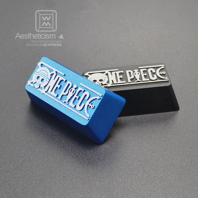 LOL ONEPIECE 7075 aviation aluminum alloy Metal Backspace for diy mechanical gaming keyboard
