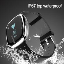 P2 Бизнес Смарт-фитнес браслет Приборы для измерения артериального давления сердечного ритма Мониторы Smart Band шагомер Водонепроницаемый браслет для iOS и Android