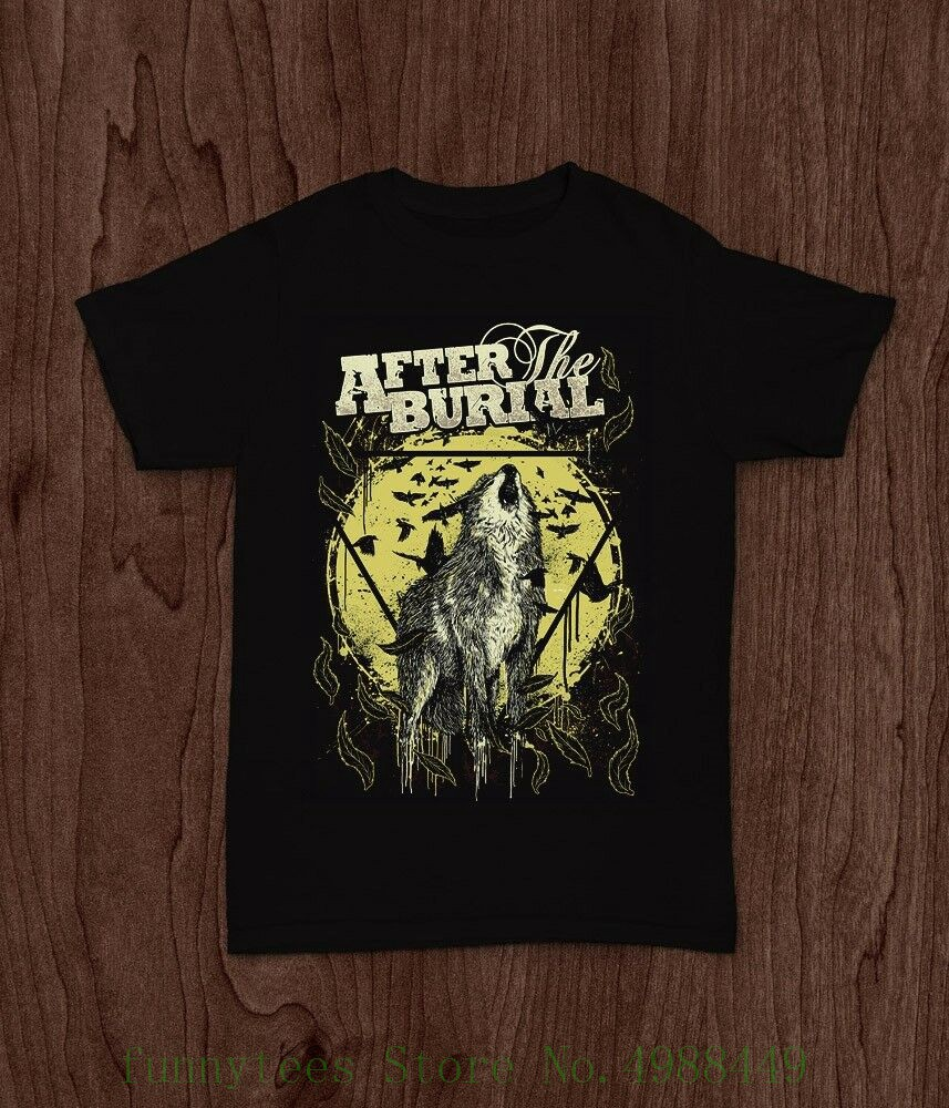 After The Burial American Progressive Metalcore Band T Shirt Tee S M L Xl 2xl Round Neck Tshirt image