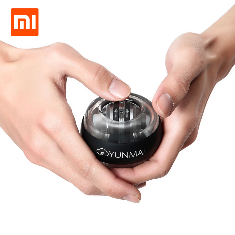 Image 4 - Xiaomi Mijia YunMai Powerball Carpal Training Apparatus Power Wrist Ball Trainer LED Gyro Ball Essential Spinner Antistress Toy-in Smart Remote Control from Consumer Electronics
