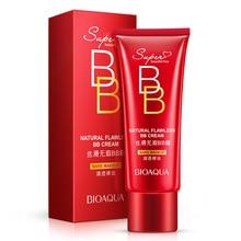 цена BIOAQUA Sexy Red BB CC Cream Face Foundation Makeup Skin Care Make Up Concealer Whitening Moisturizing Liquid Whiten Cosmetics For Base в интернет-магазинах