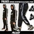 2016 Pantalones Unisex 1:1 Palacio de Rayas Ropa De Algodón Pantalones Basculador Pantalones Kanye West Hip Hop Patinetas Palacio Palacio