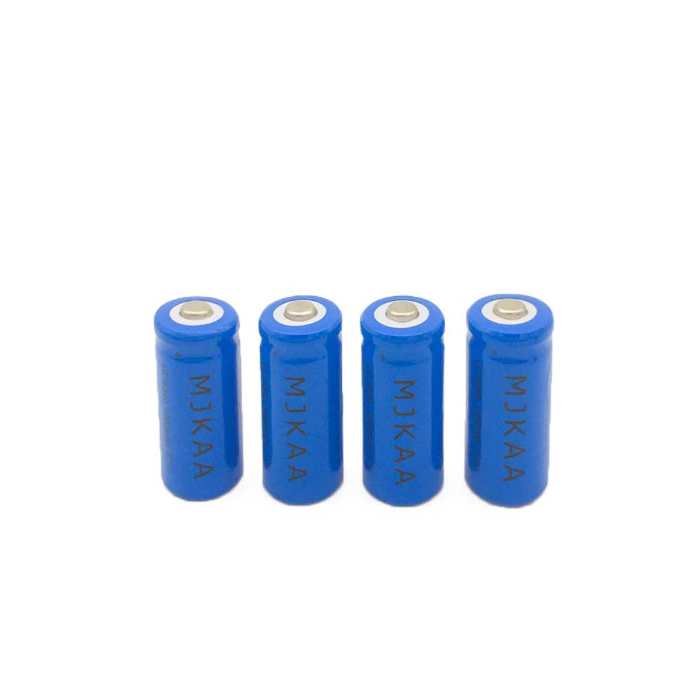 2X CR123A 16340 Rechargeable Battery 3.7v 1200 mAh Lithium li-ion batteries for Flashlight laser303 Rechargeable