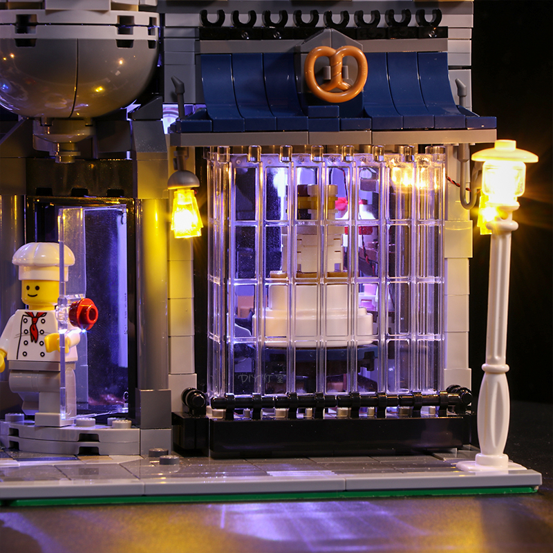 Hot DealsLed-Light-Set Battery-Box House-Toys Lego Lego/pin/Creator for City-Street Single-Lamp