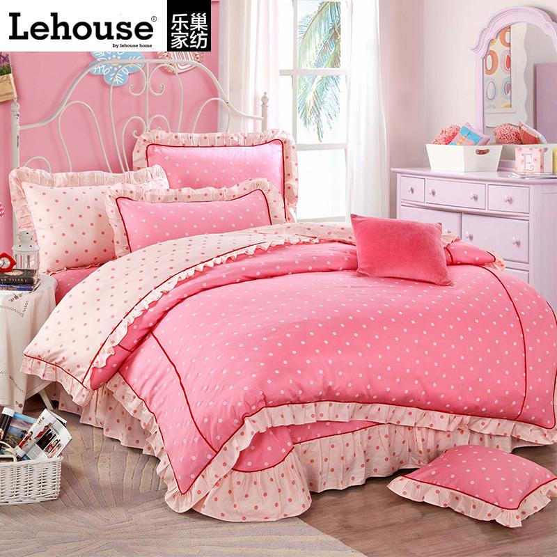 online kaufen gro handel rosa blume bett aus china rosa. Black Bedroom Furniture Sets. Home Design Ideas