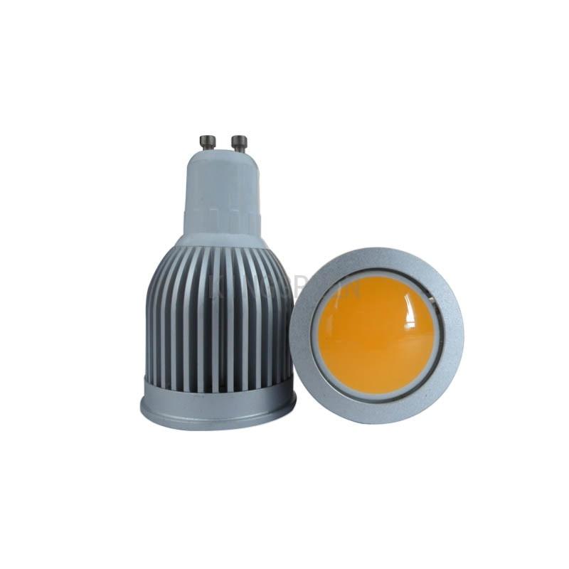 4X nový design COB LED reflektor 3W / 5W / 7W GU10 / MR16 / E27 / - LED Osvětlení