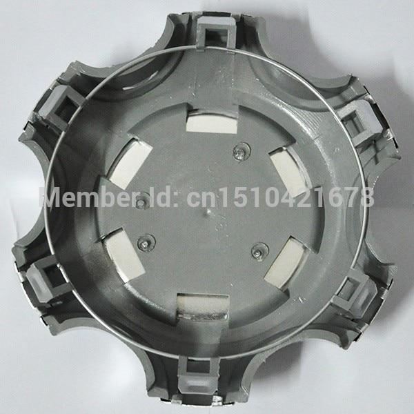 4 adet 140mm 95mm Gümüş Tam Krom Tekerlek merkezi Hub Cap alaşım - Araba Parçaları - Fotoğraf 3