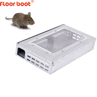 Floor boot rat trap boxes mouse trap box/cage continuous mousetrp With Window Catch High Effect Rat Trap Catcher Large Mice cage