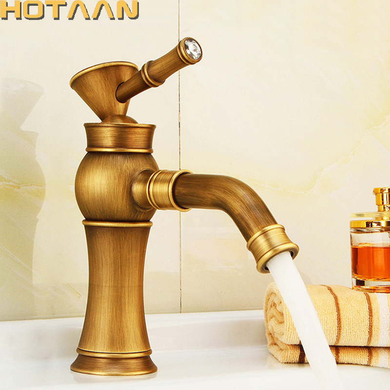 Free shipping Contemporary Concise Bathroom Faucet Antique bronze finish Brass Basin Sink Faucet Single Handle water taps YT5090 модуль памяти dimm 16gb 2х8gb ddr4 pc21300 2666mhz crucial ballistix tactical blt2c8g4d26afta