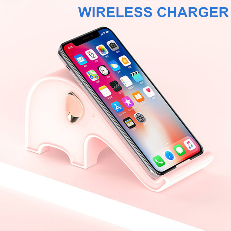 Qi Wireless Charger For Samsung galaxy S8 S9 Plus S7 Note 8 Fast Wireless Chargi