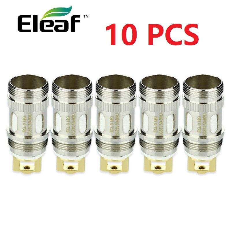 Tête de bobine d'origine Eleaf ECL 0.18hm 0.3ohm bobine de remplacement pour Eleaf ijust 2 MELO 2 MELO 3ijust S atomiseur Lemo 3 atomiseur