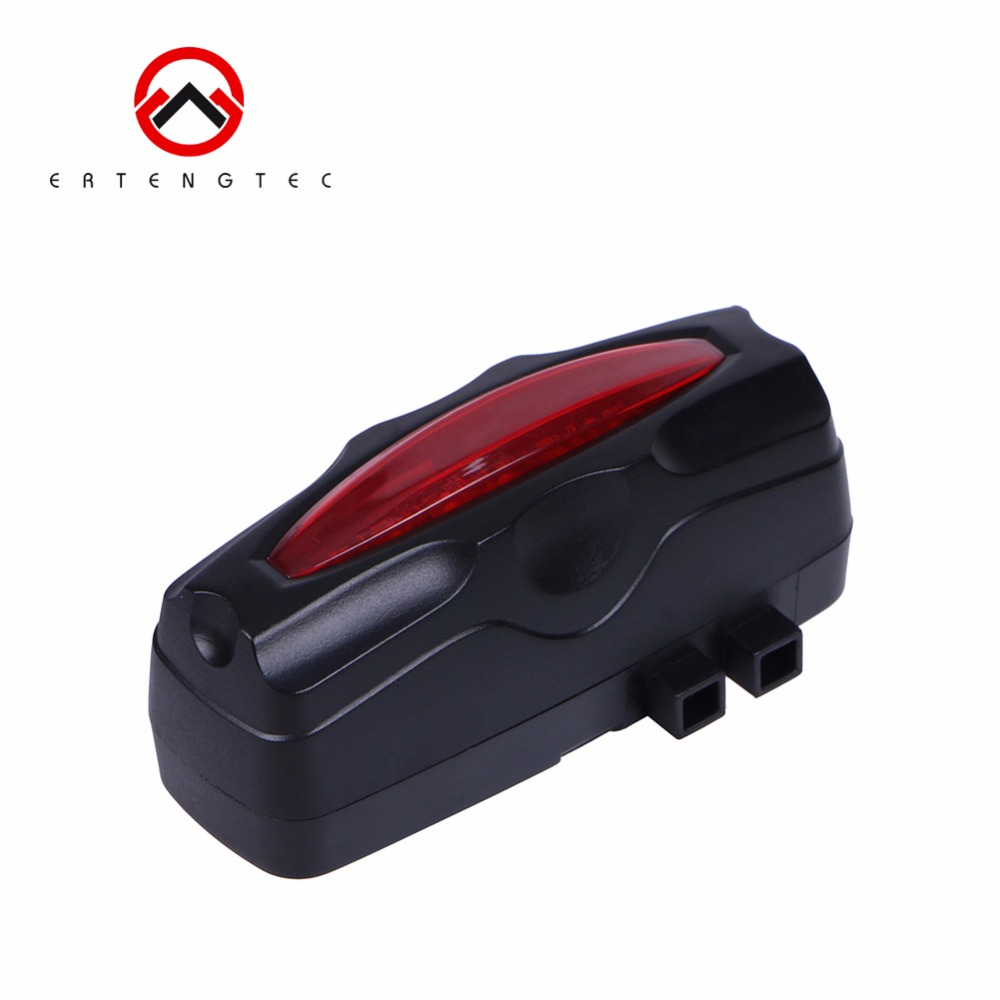 GPS Tracker Bike LED Tail Light Waterproof GPS GSM LBS Locator Tracking Device Realtime Tracking History
