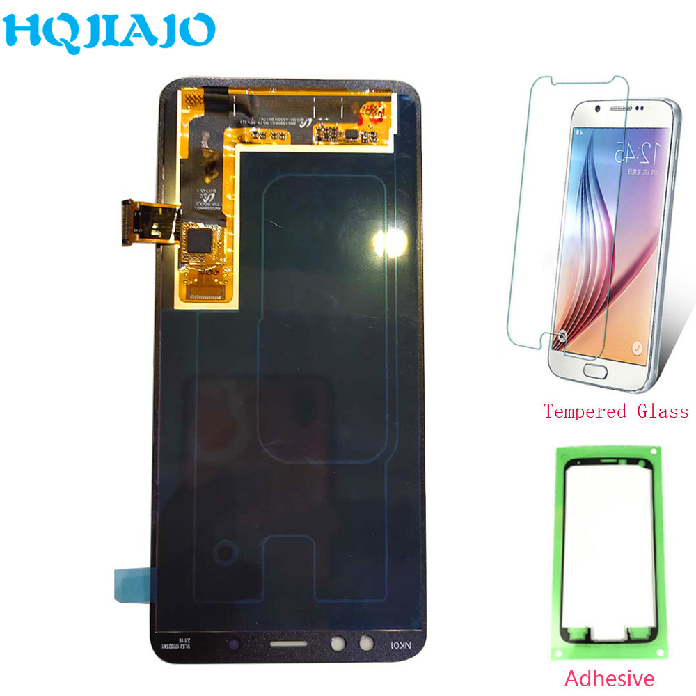 Super AMOLED LCD For Samsung Galaxy A8 2018 A530 Touch Screen Digitizer LCD Display For Samsung