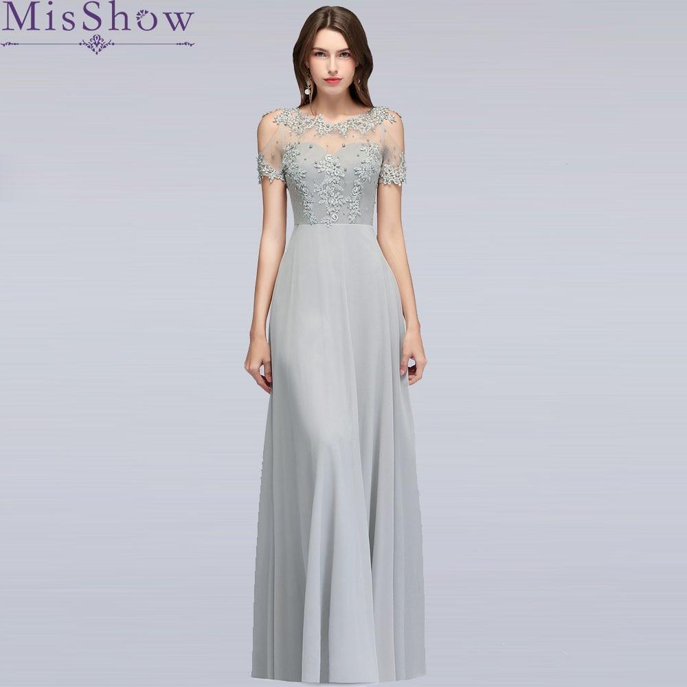2019 In Stock Hollow Out Short Sleeve Mother Of The Bride Dresses Long Evening Dress Brautmutterkleider Wedding Party Dresses