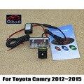 Mais novo 12 V Car Styling Auto Laser luz de nevoeiro para Toyota Camry XV50 2012 ~ 2015 à prova de chuva Anti colisão traseira - end Auto luz de advertência