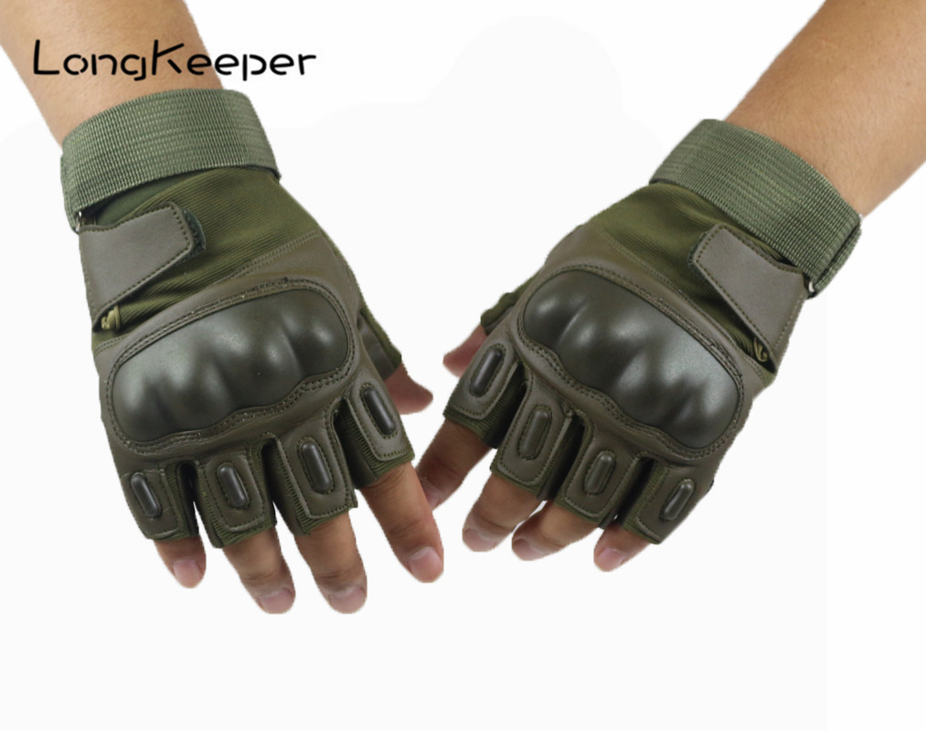 Long Keeper Amry Tactical <font><b>Gloves</b></font> Military Paintball Sports <font><b>Gloves</b></font> Fitness <font><b>Gym</b></font> Anti-skid Outdoor <font><b>Gloves</b></font> Full finger Half Finger