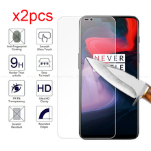 GerTong 2pcs Glass Explosion-proof Screen Protector for Oneplus 6 6T Tempered 5 5T 3T 3 Protective Safety Film