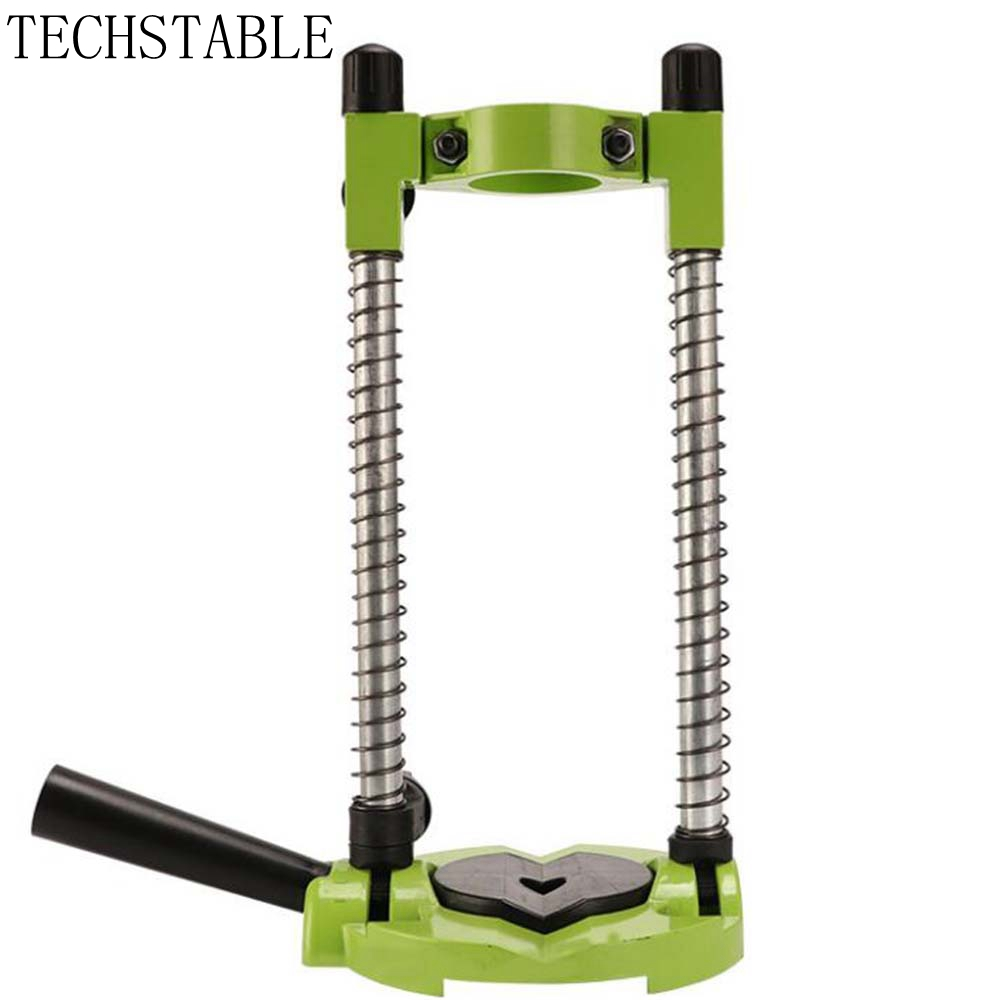 TECHSTABLE Grinder Accessory Electric Drill Stand Holder bracket used for mini drill multifunctional Grinder