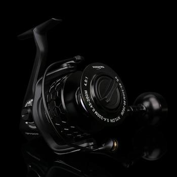 TSURINOYA Full Metal Fishing Reel SPIRIT TSP 7000 7+1BB 500g Spinning Freshwater Saltwater Lure Reel Full Metal Wheel