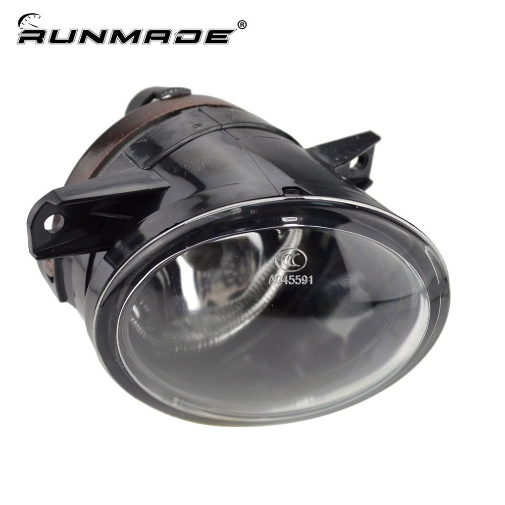 runmade For VW 2010 2011 2012 Tiguan Clear Lens Bumper Fog Driving Light Fog Lamp Right Side 5ND 941 700 runmade 1pair fog lights for 2006 2010 vw passat b6 3c clear lens front fog lamp driving lamp left