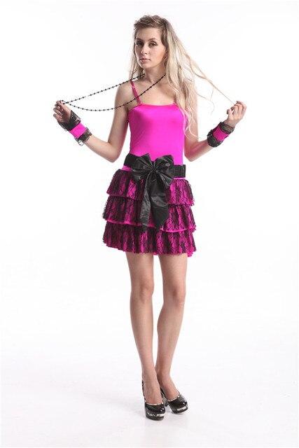 0aa072e28 € 28.94 |Aliexpress.com: Comprar Envío Gratis nuevo 80 traje Diva perfecto  Cindy Lauper Rosa caliente disfraces para adultos de cindy lauper fiable ...
