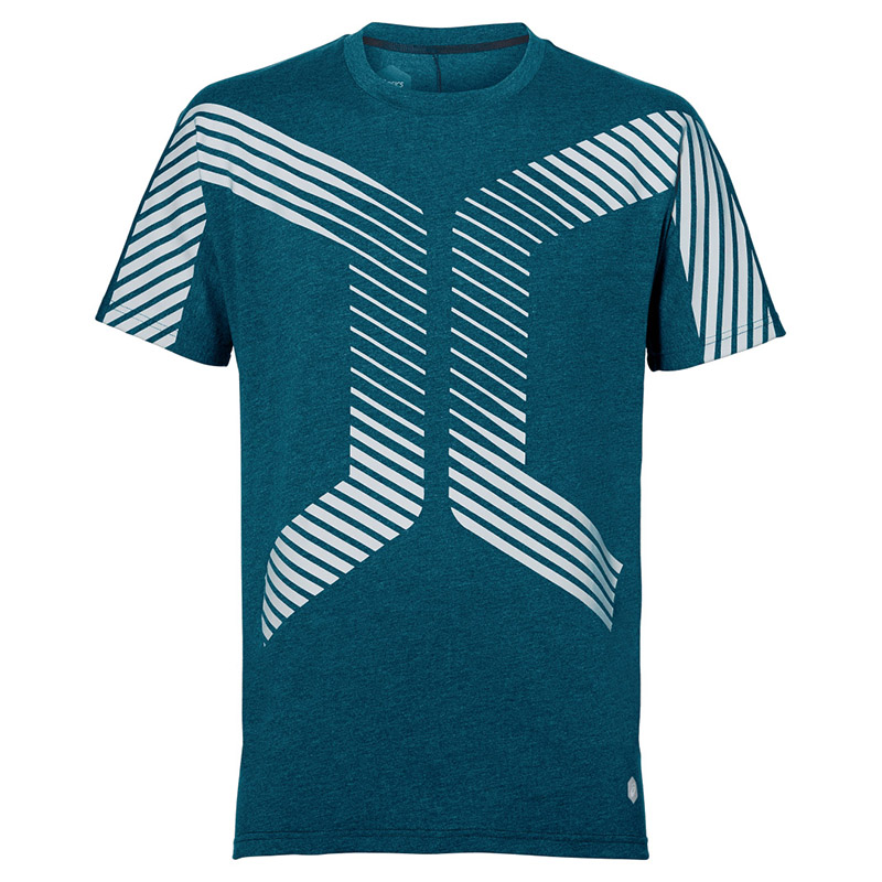 Male T-Shirt ASICS 153354-8297 sports and entertainment for men sport clothes TmallFS available from 10 11 asics running t shirt 141240 1107
