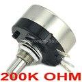 (10 шт./лот) RV30YN 20S B204 COSMOS TOCOS 200K OHM промышленные панели управляют поворотным потенциометром.