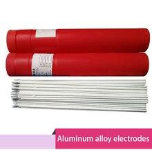Vara de solda al109 al209 al309 al409 dos elétrodos de al-mn al-mg das ligas de alumínio puras das hastes de soldadura de alumínio 10 pces al-si al-mn al-mg
