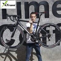 New Brand Road Bike Carbon Fiber Frame 16 18 Speed SHIMAN0 2400 3500 Light Cycling Racing